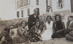 Una pandilla de 1930. Los Naranjo, Los Cassasa etc. Familias ilustres de la Playa Chica
