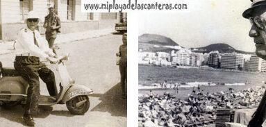 Personajes de la historia de Las Canteras: el cabo Medina