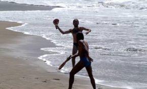 Las raquetas de playa, un deporte playero