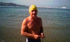 Un día de natación en la playa de Las Canteras
