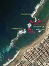 Los oleajes y corrientes en las diferentes partes de la playa de Las Canteras (2ª Parte). De la Playa Chica a Punta Brava
