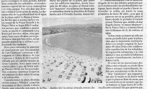 """Carta: """" La playa de Las Canteras y la arena"""" por Antonio Marrero Bosch"""