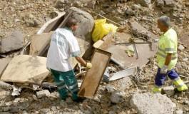 Comienzan las labores de limpieza del barranco de La Ballena.