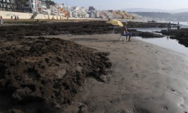 Foto denuncia: Nace una playa nueva en la playa de Las Canteras.