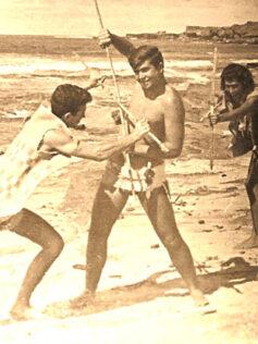 """Ser player@, de la Playa de Las Canteras. Cristóbal Tacoronte:  """"Las Canteras es como una gran Mata Hari que nunca muere, y todos sus amantes van desfalleciendo en sus brazos con el pasar de los años"""""""