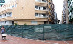 El balneario de La Cicer abrirá en pocos días/ El Ayuntamiento modifica la plazoleta dedicada al político Sagaseta para hacer un pequeño parque infantil/ Se cumple la primera semana de extracción de arena.