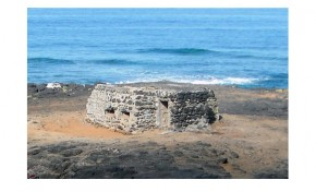 Nidos de ametralladora de la Bahía de El Confital, patrimonio olvidado