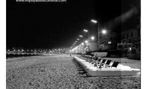 Los patines de la playa de Las Canteras