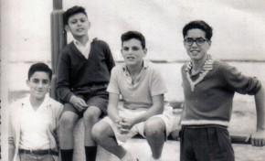 """Ser player@, de la Playa de Las Canteras. Luis Maccanti: """" Nací en una casa de la calle Galileo, junto al mar. Era una playa hermosa, con casa terreras, sin avenida y un mar que cuando embravecía llegaba a las casas""""."""