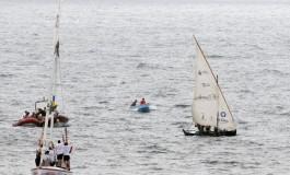 El Puerto de la Luz y el barquillo de vela latina Zuleika unen Santa Cruz de Tenerife y la playa de Las Canteras.