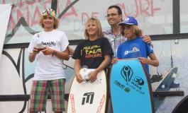 Los bugueros de La Cicer  triunfan en III Prueba del Circuito Canario de Bodyboard Sub 21 celebrada en Arico ( Tenerife).