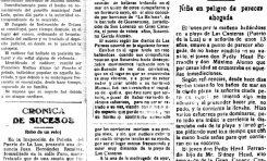 La playa de Las Canteras en la hemeroteca: Crónica de sucesos (varios)