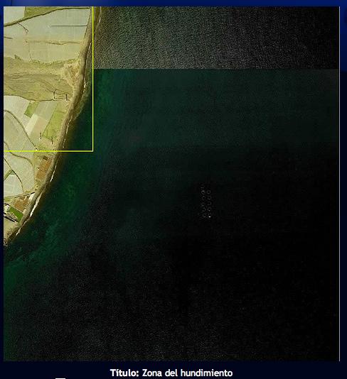 """img_40504.4985300926_02 /></p> <p>Identificación</p> <p>•Tipo de embarcación: Avion DC-3</p> <p>•Época: Siglo XX</p> <p>•Isla: Gran Canaria</p> <p>•Dimensiones: Las dimensiones del pecio corresponden a las de un DC-3: longitud o eslora 20 metros aprox, envergadura de las alas 35 metros y altura 5 metros, aunque el estado de conservación de los timones de cola está muy deteriorado, así como el morro del avión que recibió el impacto de la colisión.</p> <p>•Fecha de naufragio: 30 de junio de 1971</p> <p>Localización (SIG)</p> <p>•Latitud: 27° 53′ 48.0012"""" N</p> <p>•Longitud: 15° 22′ 44.0004"""" W</p> <p>•Profundidad: 34 m.</p> <p>Dificultad</p> <p>•Distancia de la costa: El avión se encuentra hundido a 500 metros de la costa, de la playa de Vargas. Aunque los puertos más cercanos para el acceso al avión de Vargas son el puerto de Arinaga, situado al sur, y el puerto de Taliarte, situado a más distancia al norte, más allá de la península y la bahía de Gando, para su ubicación se puede tomar como referencia la baliza Sureste de las jaulas de cultivo marinos situadas frente a la playa de Vargas. La inmersión es recomendable realizarla desde una embarcación neumática a motor que permite un acceso rápido y seguro, y el regreso en condiciones y facilidad.</p> <p>•Corrientes: La costa este de la Isla está sometida a los vientos constantes Alisios especialmente intensos durante los meses de verano, lo que genera una corriente de viento de intensidad moderada en el sitio de buceo. Durante los meses de invierno, también esta costa está expuesta a los temporales del sureste, y los mares de fondo. La mejor temporada para el buceo en esta costa se produce con las llamadas Calmas de septiembre y octubre.</p> <p>•Oleaje: La costa este de la Isla está abierta a los oleajes del primer y cuarto cuadrante, y también recibe los oleajes de fondo del noroeste. Es una zona que suele estar sometida a un oleaje medio de altura de 0,5 a 1,5 metros, aunque los oleajes de fondo y de temporal pueden """