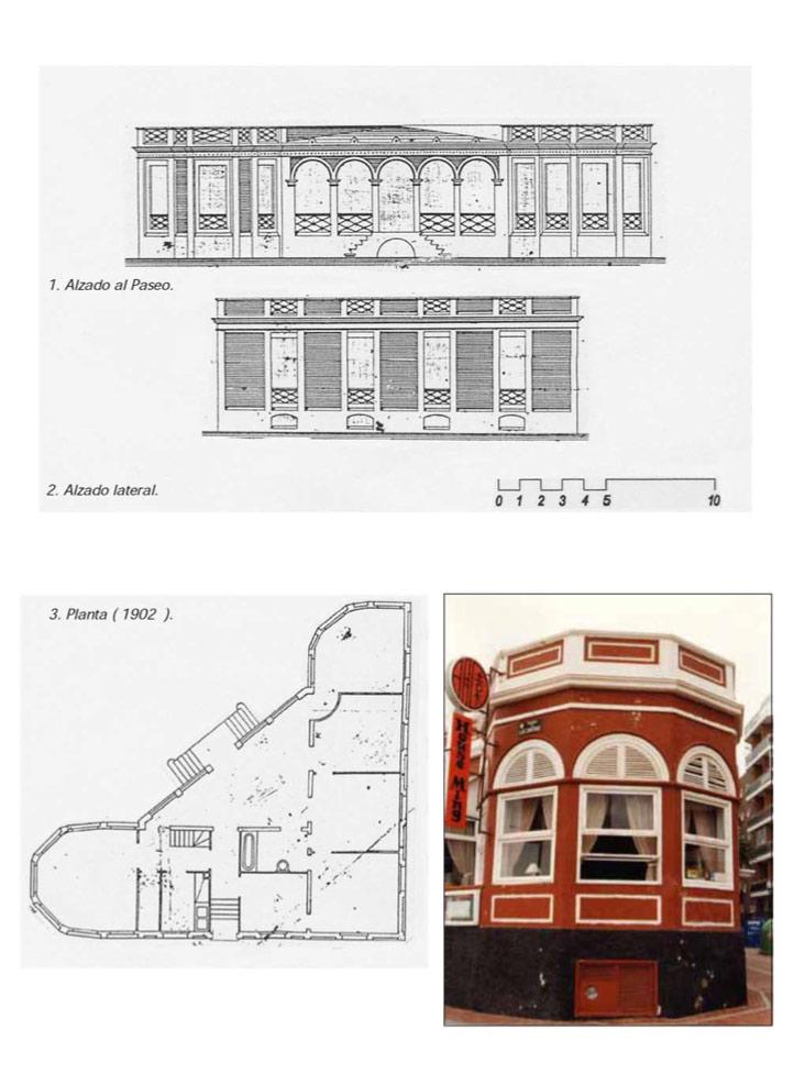 Edificios protegidos del entorno de la playa de Las Canteras 1 de 8 : «Casa Alzola Apolinario»
