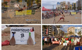 PALAS COMPETTION, un deporte de competición que nace en la playa de Las Canteras basado en el tradicional juego de palas en la playa
