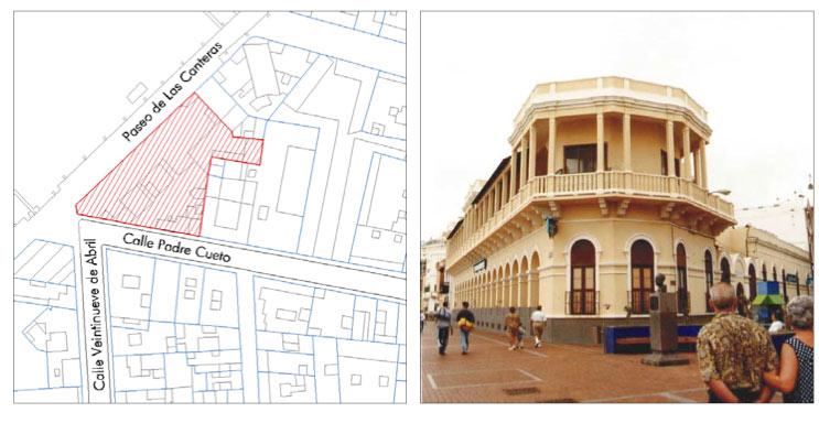Edificios protegidos del entorno de la playa de Las Canteras 5 de 8: «Clínica San José»