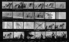 Se descubren nuevas fotos del rodaje de Moby Dick en la Bahía de El Confital