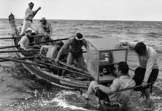 1954: Rodaje de Moby Dick en La Bahía de El Confital