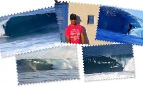 """Entrevista a Eduardo Acosta, un surfero de Las Canteras """"Con el surf he aprendido a vivir el momento. A enfrentarme a la fuerza del mar, pasar miedo, ser una persona más humilde"""""""