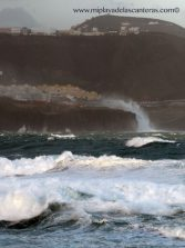 La amenaza de trombas de agua y la subida del mar, constatadas por el Diagnóstico de Riesgos del Cambio Climático de Gran Canaria