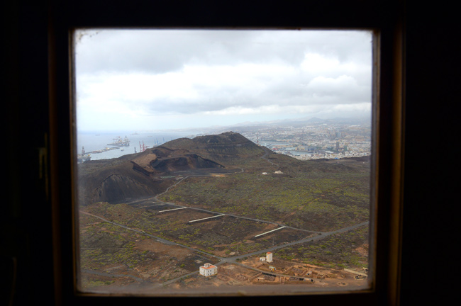 Lo que se ve desde el Faro de La Isleta
