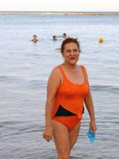 """Maruca González: """"Al bañarme en Las Canteras cada día del año me recargo con la energía del mar"""""""