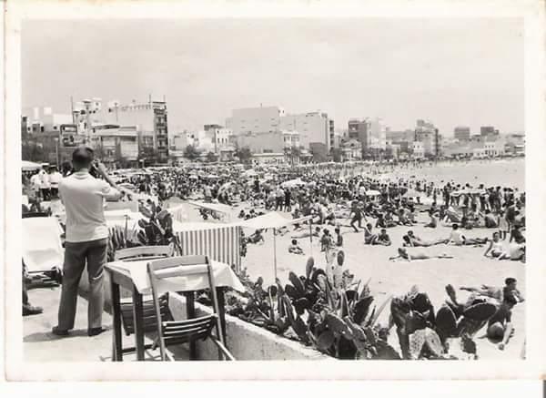 Un domingo de finales de los años 50