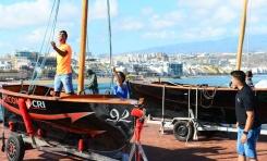 Cinco barquillos de vela latina disputan la 4ª jornada de la liga