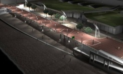 ¿Como le afectará a la dinámica de la arena cuando el sistema necesite llenar el hueco que deje el aparcamiento de la Cicer?