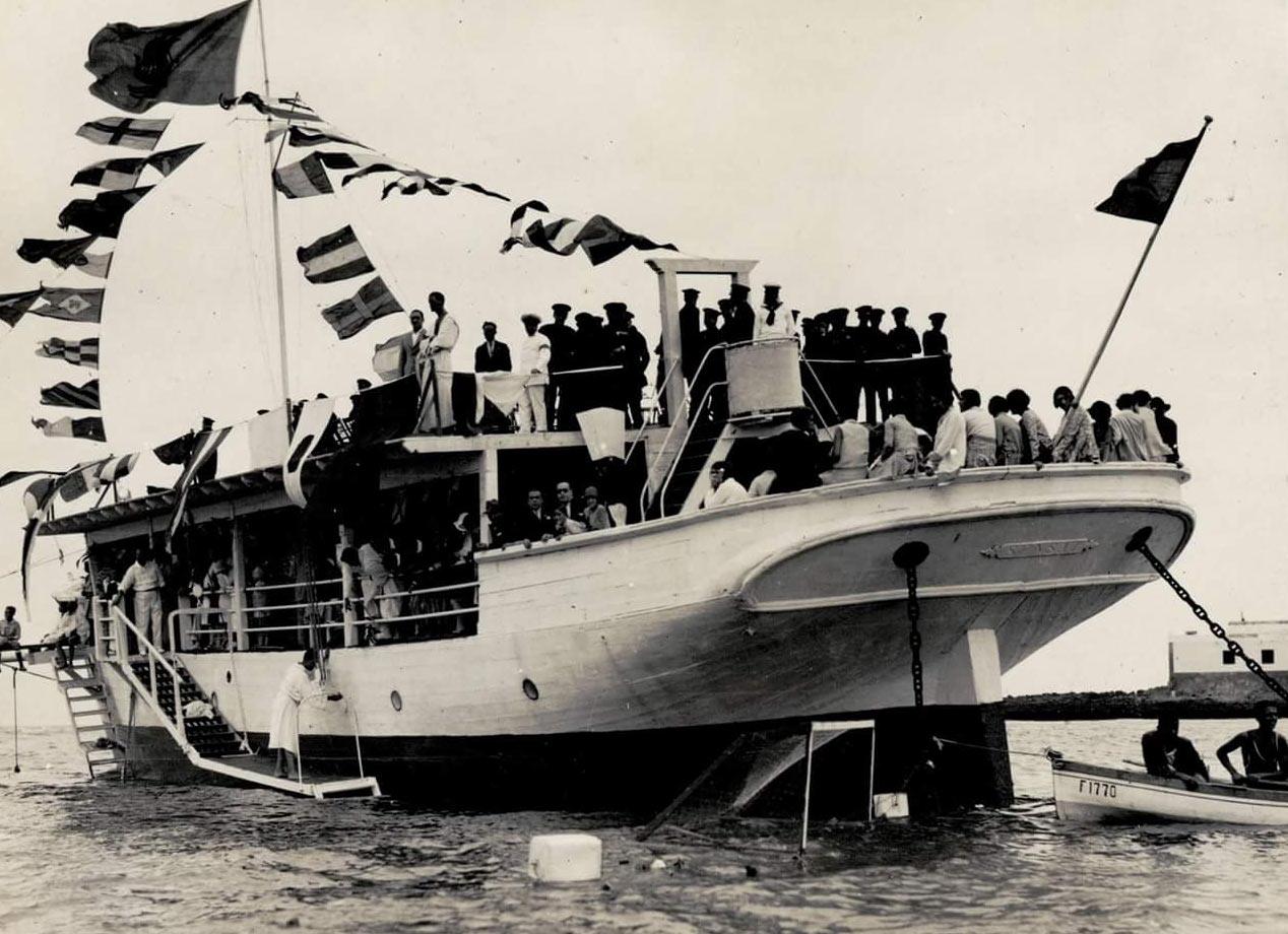 El primer club de natación en Canarias: el Club Natación Las Canteras
