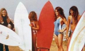 Surferas de La Cicer. Aquellos maravillosos años