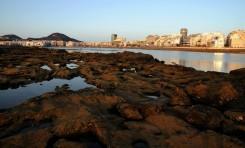 La Barra de Las Canteras sufrió la extracción de 15.000 m3 de piedra