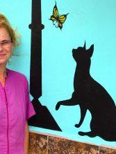 """Carmen Uceda,  veterinaria """" Si, soy partidaria de que el paseo de Las Canteras pueda ser disfrutado por los ciudadanos con sus perros, eso sí, siempre con correa"""""""