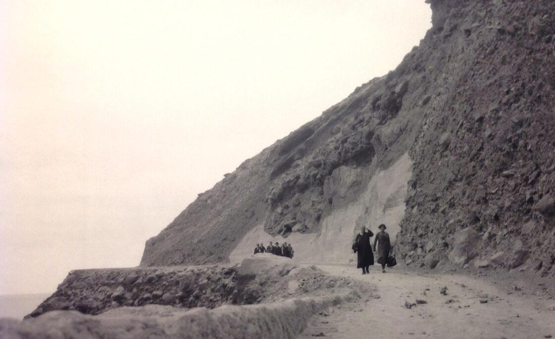 1931: de camino al balneario del Cristo Rincón