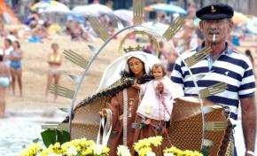 Este domingo tendrá lugar la tradicional procesión marítima de la Virgen del Carmen por la Bahía de El Confital