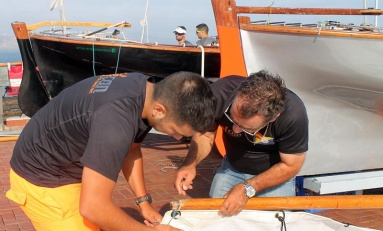Cri- Ricoh toma la delantera en la liga de barquillos de vela latina