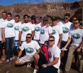 """Los 100 deportistas del """"Confital Surf Club"""" reclaman un local para realizar sus actividades"""