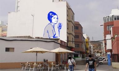 Un mural recordará la figura de la periodista Mara González en La Plaza del Pilar