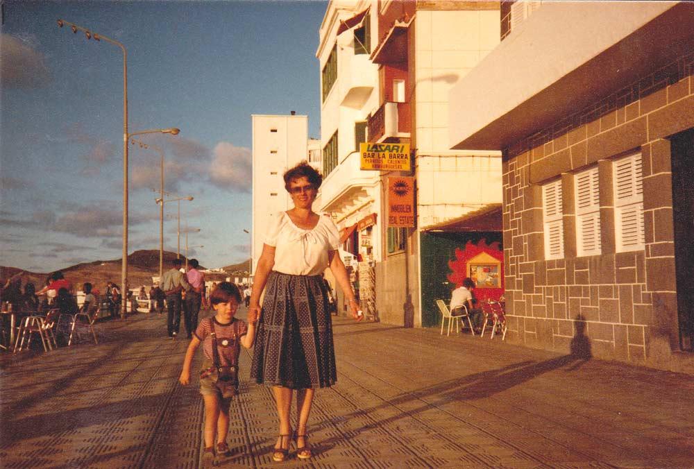 El álbum fotográfico familiar de Christian Rötting. 1982-1985