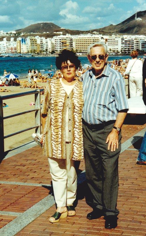 Gerhard y Marianne Rötting en 1992