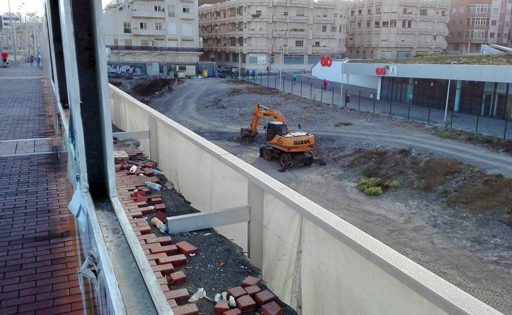 Empiezan los trabajos para la construcción de la pasarela de la Cicer