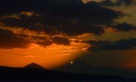 La sombra del Teide