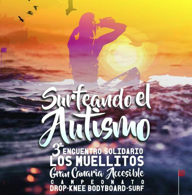 """Este fin de semana. III Encuentro los Muellitos """"Surfeando el Autismo""""."""