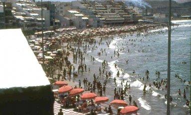 1975: zona de la Peña la Vieja