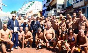 Se convoca la histórica travesía de natación del primer domingo de octubre