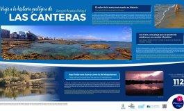 Un itinerario peatonal pone al descubierto los secretos de Las Canteras y El Confital