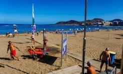 Modificación del horario de los balnearios de Las Canteras los días festivos de Navidad