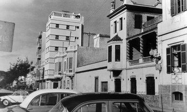 La Calle Sagasta en 1946