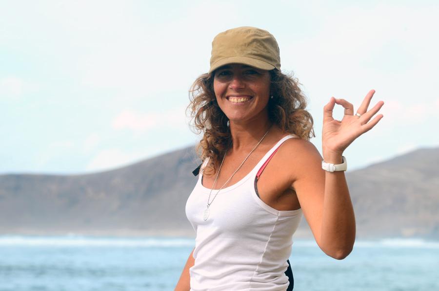 Carolina Romero, terapeuta. «Las Canteras es una fuente de sanación»