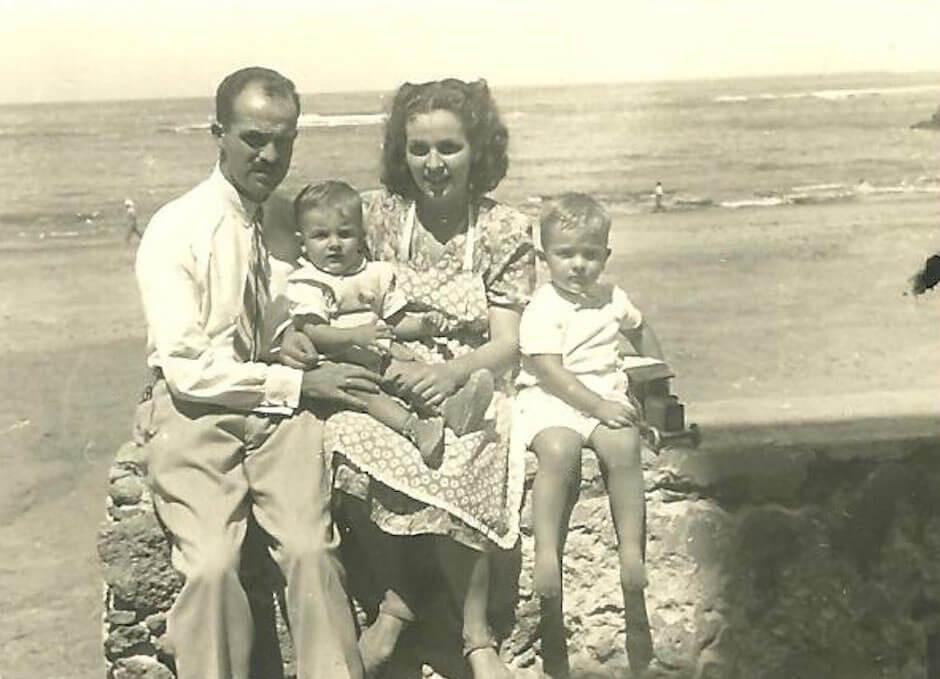La familia Celis-González